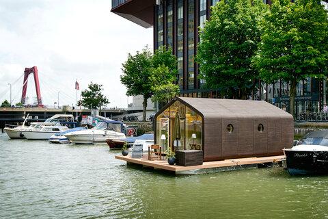ابتکار روتردام هلند برای حل بحران بی خانمانی