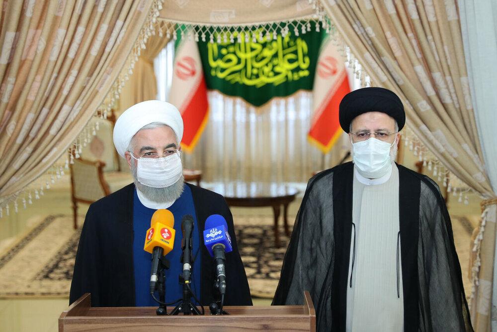 روحانی: آقای رئیسی از ۱۲ مردادماه رییس جمهور همه ماست