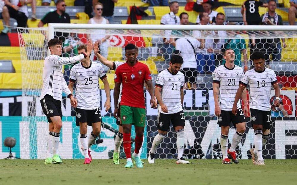 پرتغال ۲- آلمان ۴/ تحقیر یاران رونالدو به دست ژرمنها