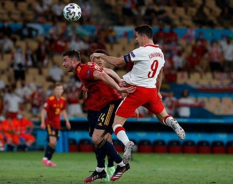 اسپانیا یک- لهستان یک/ تکلیف صعود به بازی آخر کشیده شد