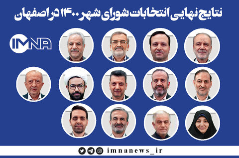 Isfahan recognizes its Islamic city council members