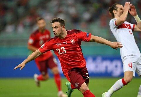 سوئیس ۳- ترکیه یک/ امیدهای سوئیس برای صعود زنده ماند