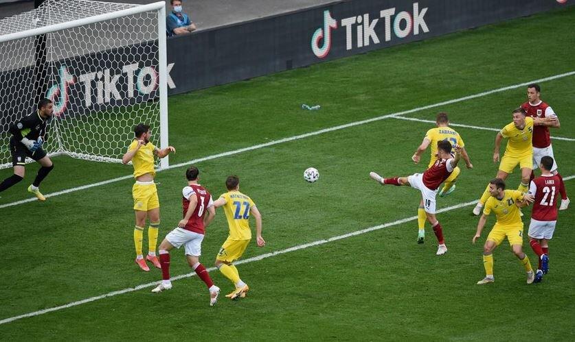 اوکراین صفر- اتریش یک / صعود اتریش و حذف احتمالی تیم شوچنکو