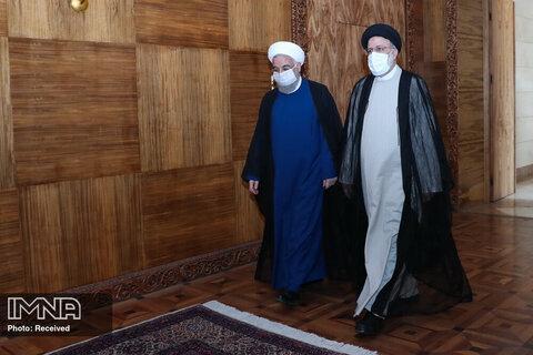 دیدار رئیس جمهور منتخب با رئیس جمهور