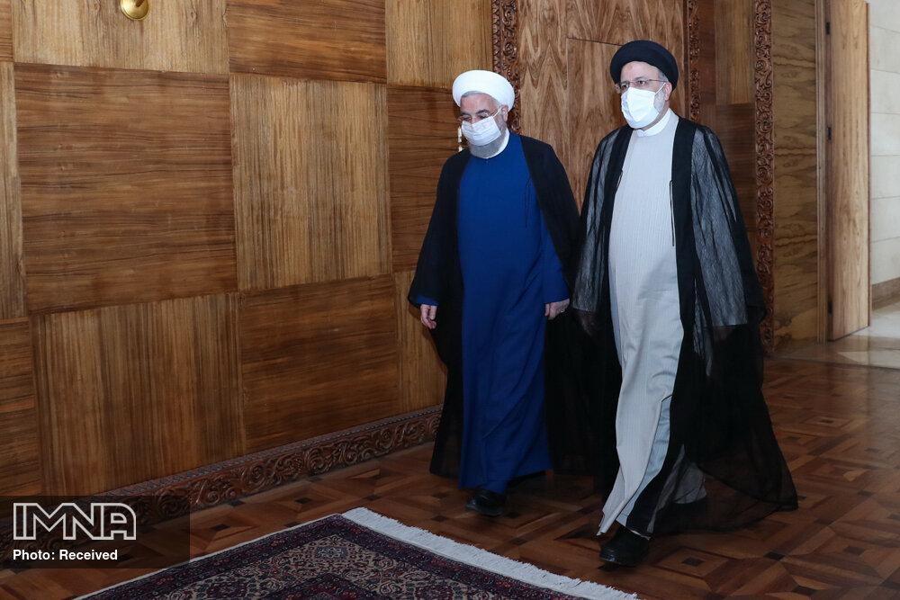 دیدار رئیس جمهور منتخب با روحانی