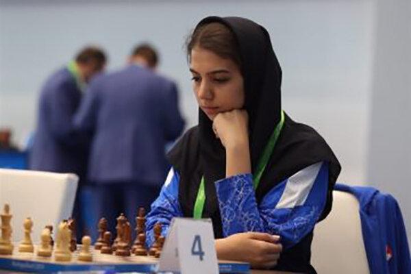 ساراسادات خادم الشریعه افتخاری بزرگ را برای شطرنج ایران رقم زد