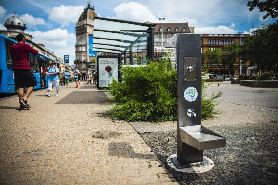 اقدامات بوداپست برای کاهش گرما
