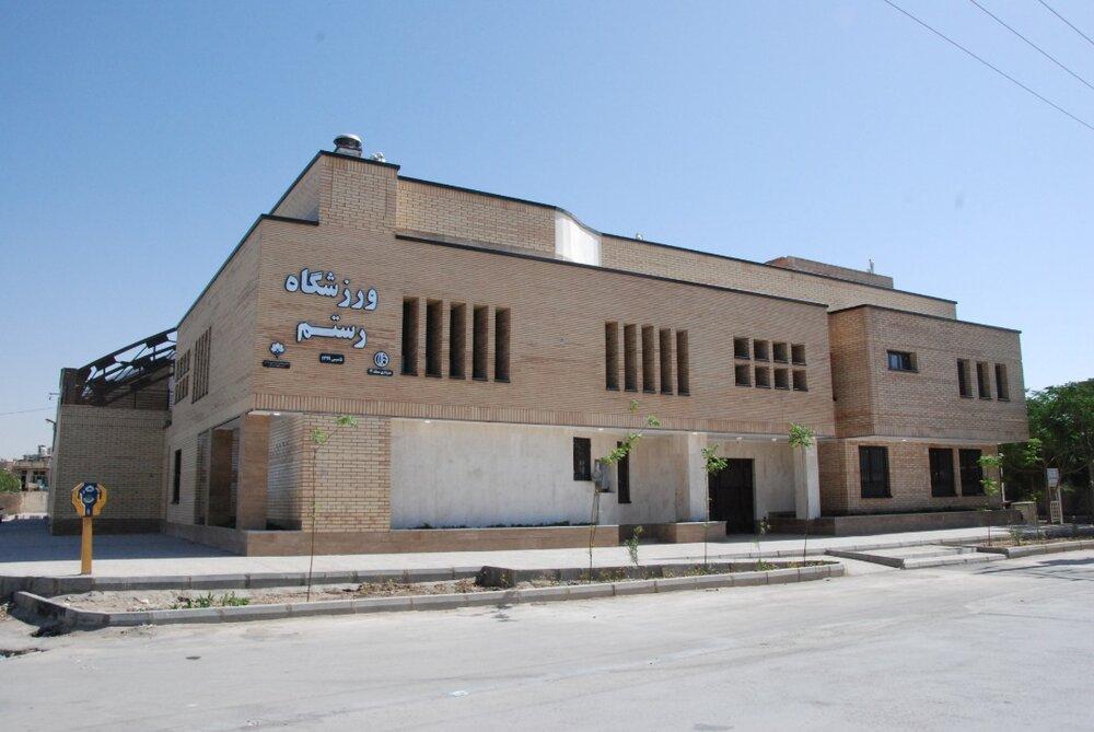 ورزشگاه رستم در محله ارزنان افتتاح میشود