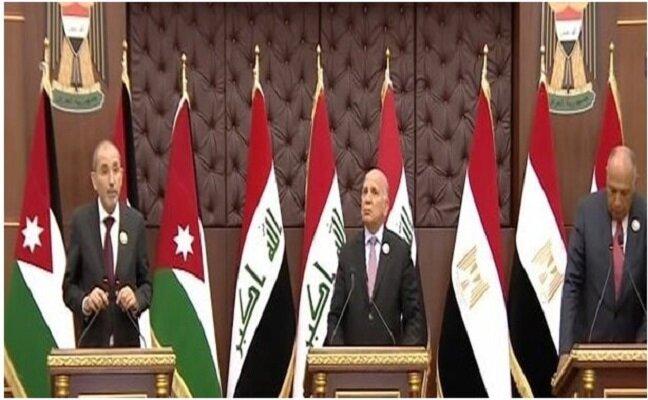 نتایج اجلاس سه جانبه بغداد از زبان وزیران خارجه مصر، اردن و عراق