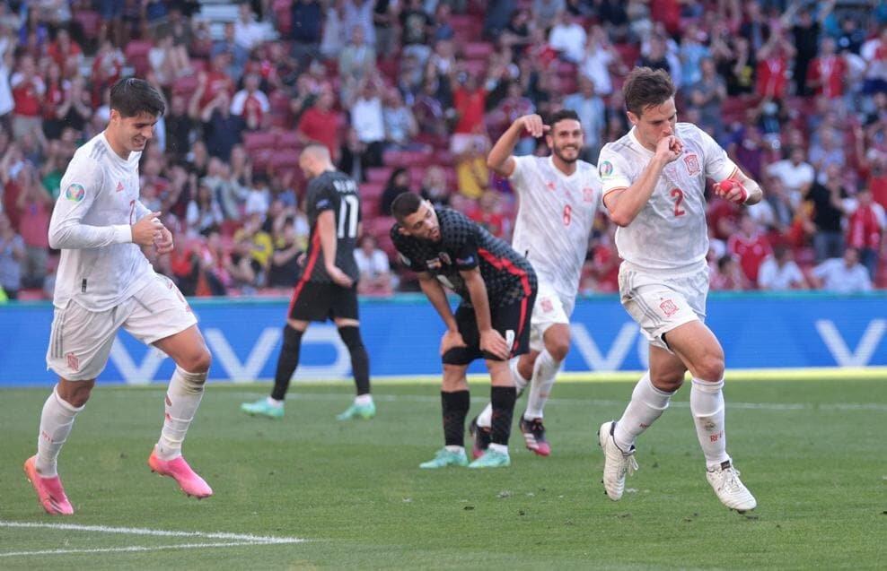 کرواسی ۳- اسپانیا ۵/ پیروزی دراماتیک لاروخا در سناریوی ۸ گله