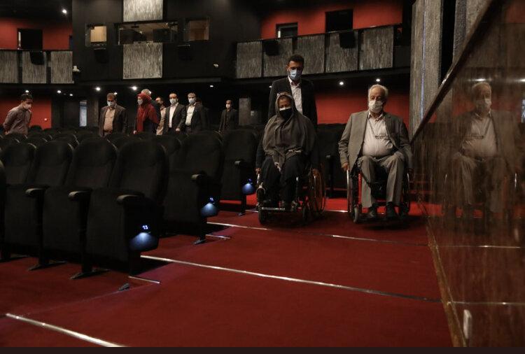 سالن اجتماعات و سن مجموعه ایوان شمس در شهرداری تهران برای معلولان مناسبسازی شد