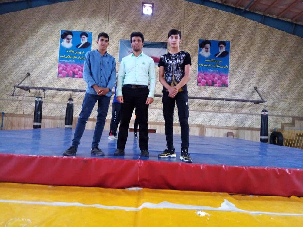تیم هیئت ووشو شهرضا در مسابقات استانی اصفهان شرکت کرد