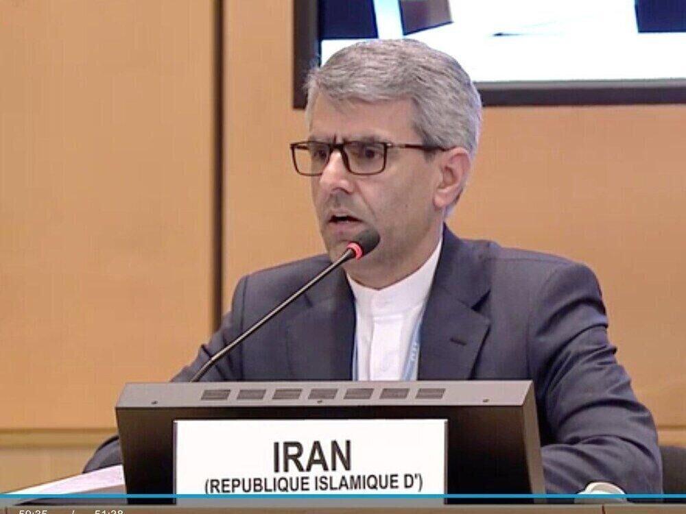 سفیر ایران در شورای حقوق بشر: قصور آمریکا در ترور سردار سلیمانی واضح است