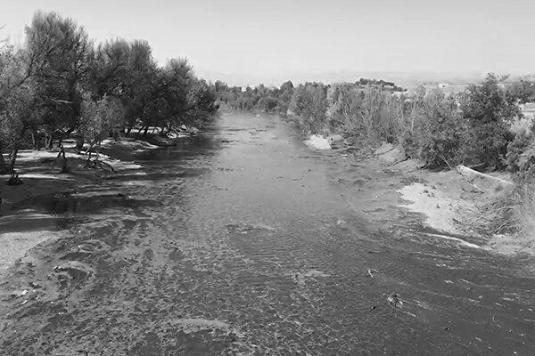 جاری شدن زاینده رود ۱۴۰۰