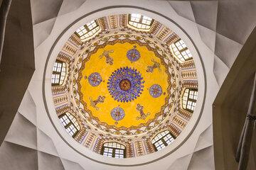 Saint Sarkis Church in Isfahan's Armenian quarter