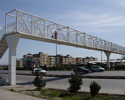 Bicycle-wheeling ramps to be installed on Isfahan's pedestrian bridges