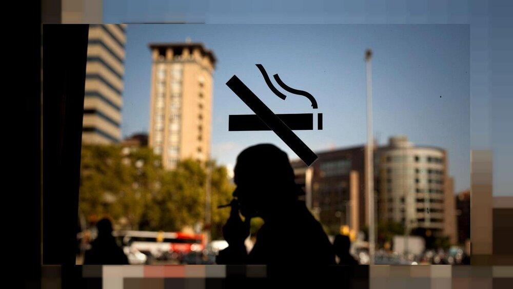 لطفا در این مکان سیگار نکشید
