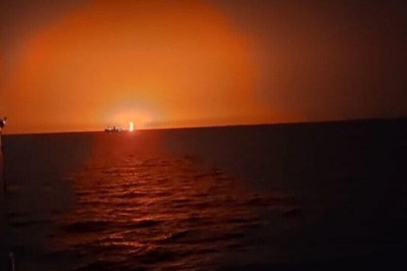 وقوع یک انفجار بزرگ در دریای خزر + جزییات