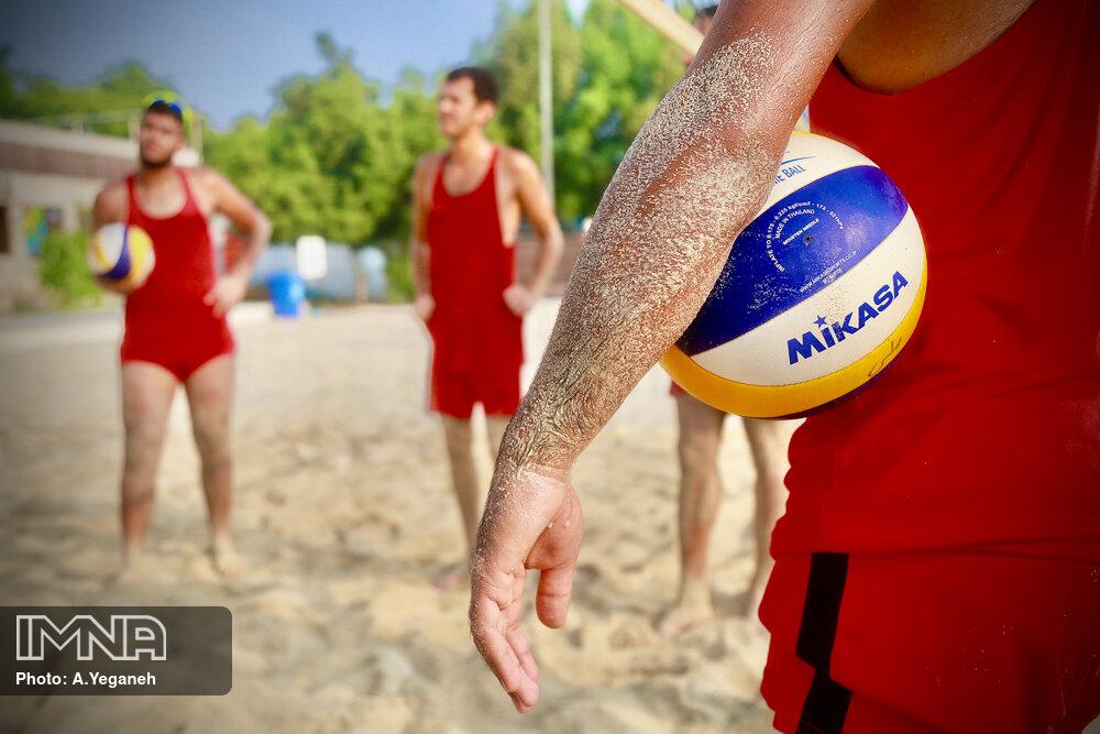 اردوی انتخابی تیم ملی والیبال ساحلی ناشنوایان