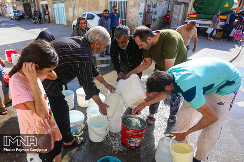 Iran's water crisis in pictures