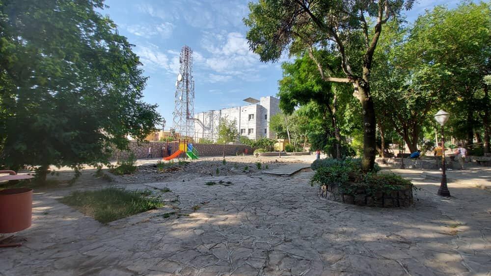 آغاز عملیات احداث بوستان موسیقی در پارک سپیدار سنندج