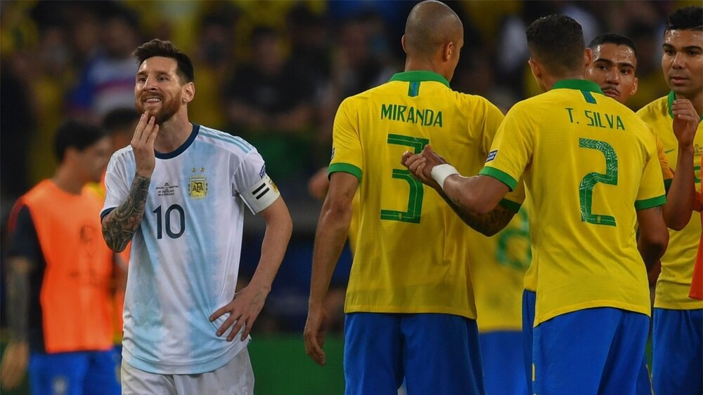 داستان لغو بازی برزیل و آرژانتین چه بود؟