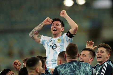 مسی: در مورد قهرمانی با آرژانتین خواب دیده بودم