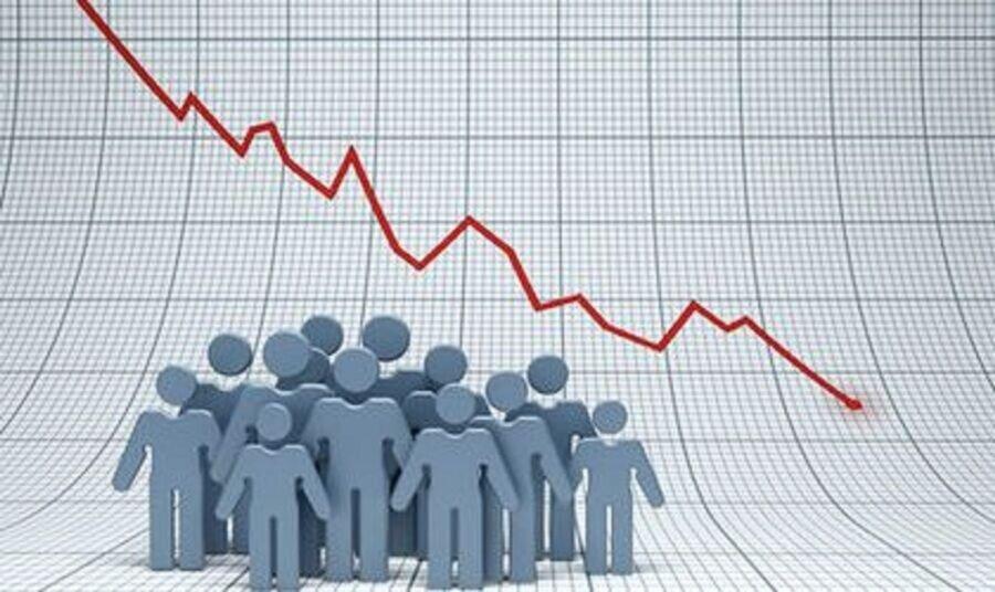 جمعیت جهان رو به کاهش است