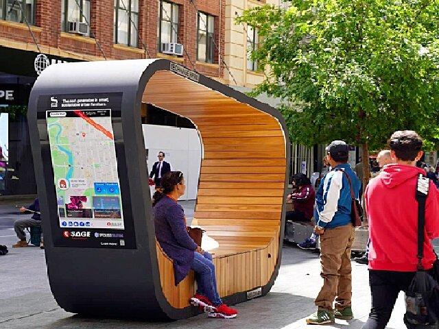 تدابیر شهرهای جهان برای هوشمندسازی مبلمان فضاهای عمومی