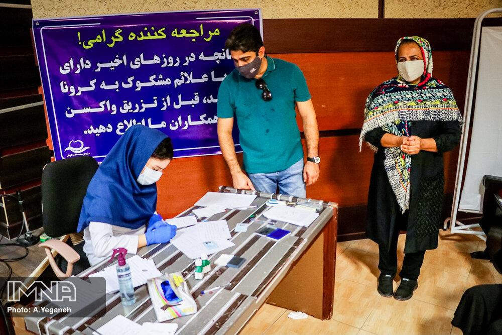 ۷۰ درصد گروههای هدف به مراکز واکسیناسیون مراجعه کردهاند