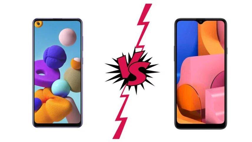 مقایسه گوشی سامسونگ Galaxy A21S و Galaxy A30S+ لیست جزئیات