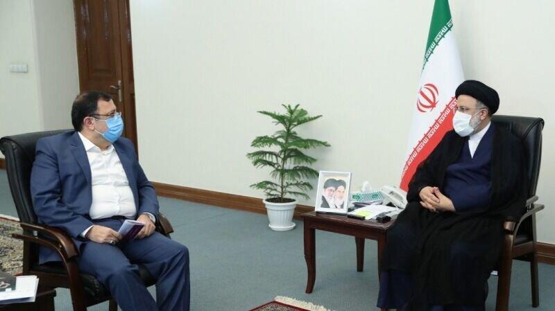 دبیر شورای عالی فضای مجازی با رییس جمهور منتخب دیدار کرد