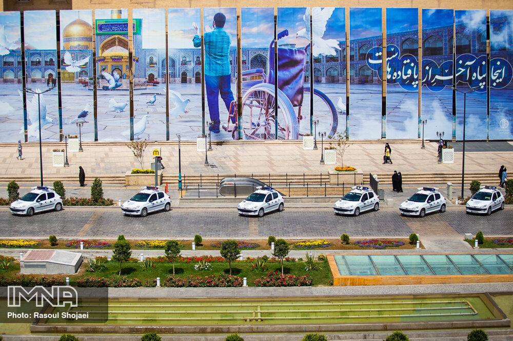 رونمایی از ناوگان نظارت ترافیکی شهر به همت شهرداری اصفهان