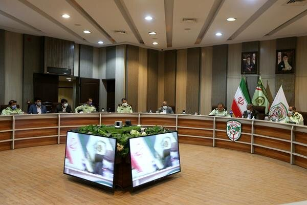 اعضای کمیسیون شوراهای مجلس از پلیس فتا بازدید کردند