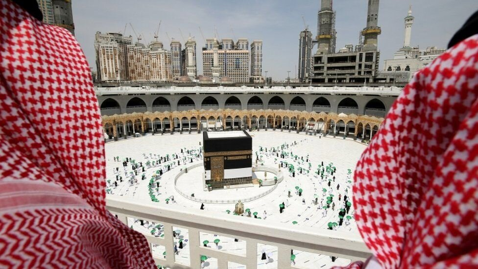 Hajj in Mecca during the COVID pandemic