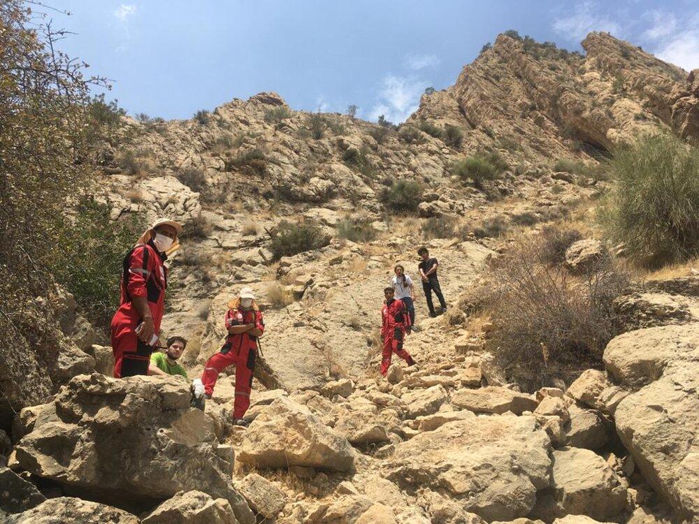 جوان گمشده در ارتفاعات دراک نجات یافت