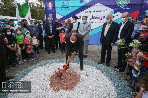 آغاز عملیات اجرایی پروژه های منطقه ۲ شهرداری اصفهان