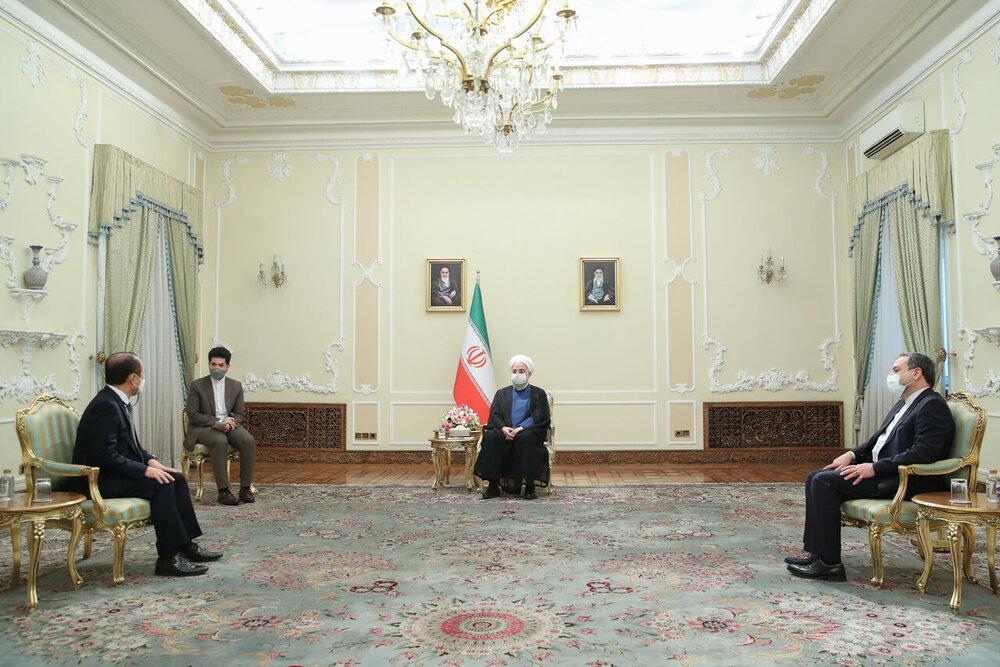 استفاده ایران از ذخایر مالی خود در بانکهای کره جنوبی حق روشن و واضح ما است