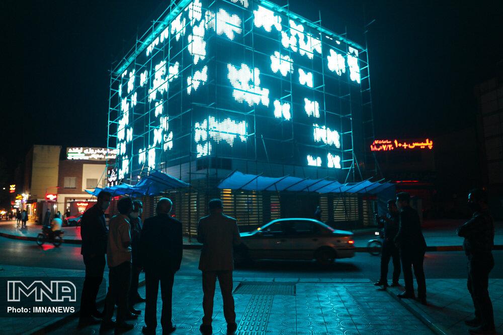 نورپردازی در نمای بیرونی ساختمانهای مسکونی قانونی است؟