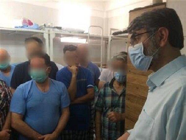 بازدید سرزده رئیس سازمان زندانها از ندامتگاه تهران بزرگ