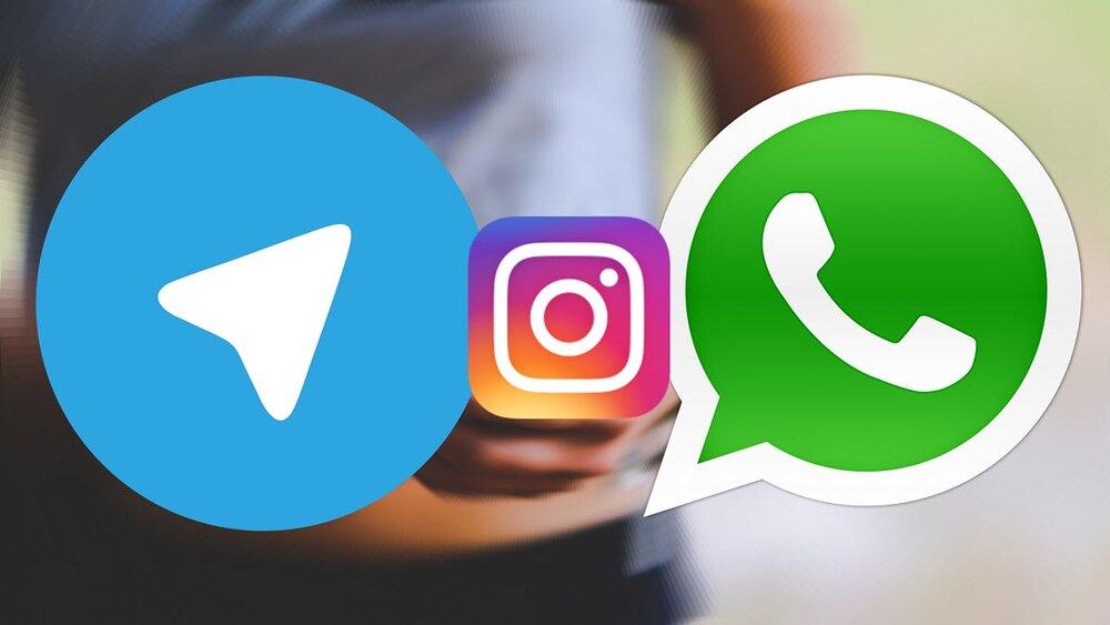 واتساپ، اینستاگرام و فیسبوک دچار اختلال شد