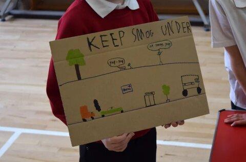 سهیمسازی دانشآموزان انگلیسی در کاهش آلودگی شهرها
