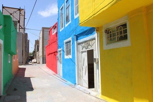 رنگ ها در گود ۱۰۰ ساله مشهد