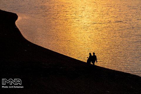 کاهش ذخیره آبی سد «اکباتان» همدان