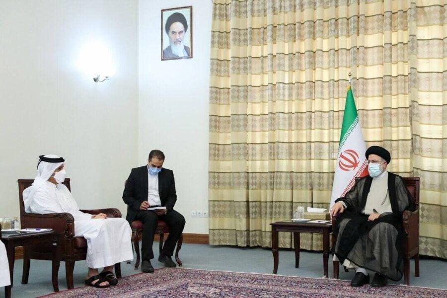 دلیل سفر ناگهانی وزیر خارجه قطر به تهران چه بود؟