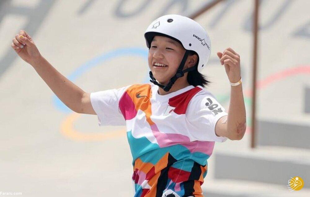 مدال طلا برای ورزشکار ۱۳ ساله در المپیک توکیو
