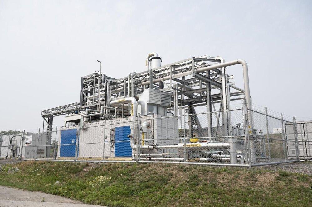 تولید گاز طبیعی از زباله در کانادا