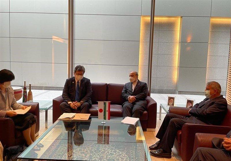 دیدار وزیر ورزش ایران با همتای ژاپنی