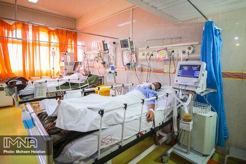 بستری ۲۰ بیمار مبتلا به کرونا در بیمارستان امام حسین گلپایگان