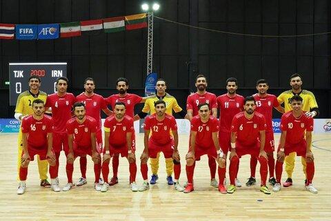 صعود فوتسال ایران در رنکینگ فیفا در آستانه جام جهانی
